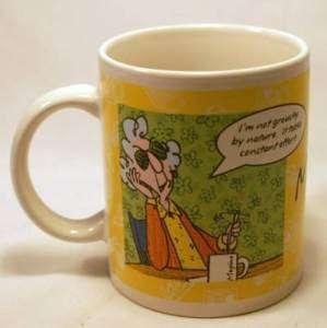 Funny Maxine Comic Coffee Mug Hallmark Gourmet Gifts