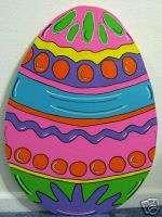 Large Vibrant Easter Egg Spring Yard Art Decoration