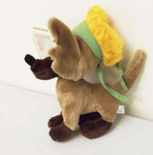 Vintage Oliver & Co Disney TITO the Chihuahua Stuffed Plush Animal Dog