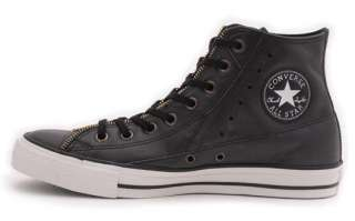 New Converse All Star Chuck Taylor AS Motorcycle Jacket HI Black