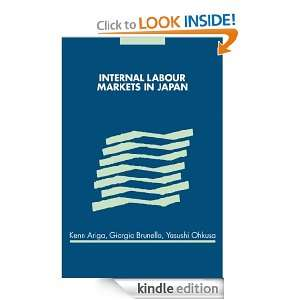 Internal Labour Markets in Japan Kenn Ariga, Giorgio Brunello