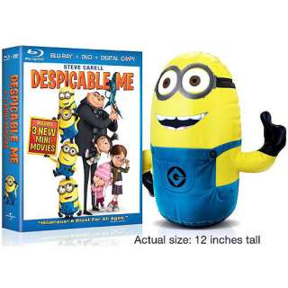 Despicable Me (Blu ray + Standard DVD + Digital Copy) (With Inflatable