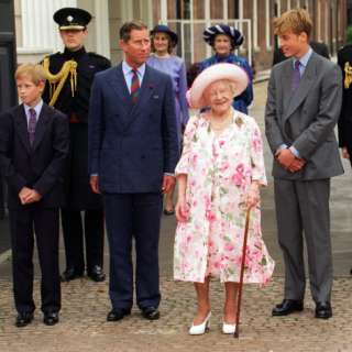 birthday at Clarence House with Prince Charles, Prince William and