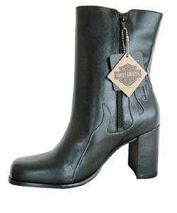 Harley Davidson Womens Scorch Black Boots