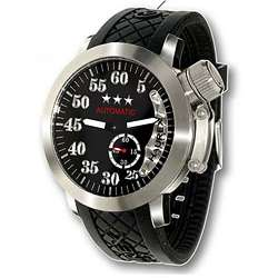 Haurex Italy Armata Automatic Mens Black Watch