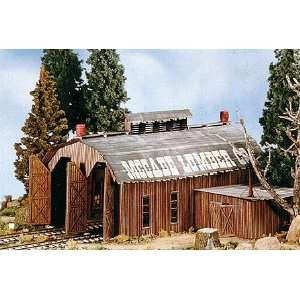BTS HO Scale Coyote Draw Narrow Gauge Engine House Kit