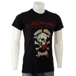 Ed Hardy Mens Love Dies Hard T shirt