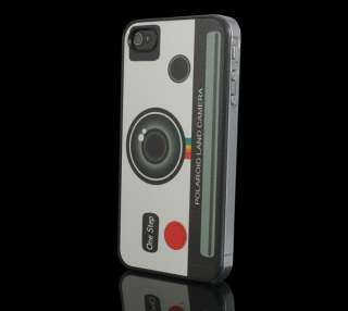 Luxury Ultra Slim Camera Hard Back Case Cover For Apple iPhone 4 4G 4S
