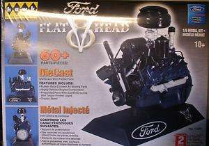 HAWK ~ FORD FLATHEAD V 8 ~ 16 SCALE MODEL KIT #11081