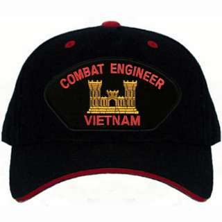 US Army COMBAT ENGINEER Vietnam Vet Base Ball Cap Hat