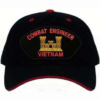 US Army COMBAT ENGINEER Vietnam Vet Base Ball Cap Hat