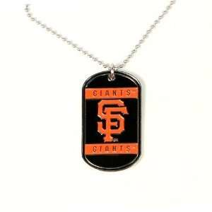 MLB San Francisco Giants Dog Tag   Neck Tag Sports
