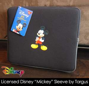 Disney Mickey Mouse 15.4 Laptop Sleeve Case by Targus