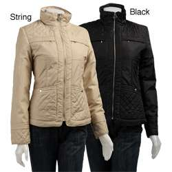 MICHAEL Michael Kors Womens Quilted Jacket