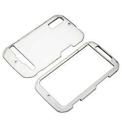 Clear Crystal Snap on Case for Motorola MB855 Photon 4G