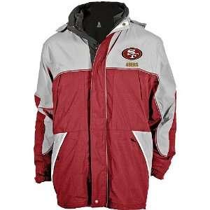 Reebok San Francisco 49ers Big & Tall Quadrant Jacket with