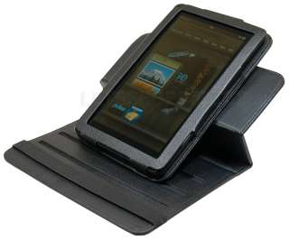 PREMIUM 6 WAY 360 ROTARY LEATHER STAND CASE COVER FOR  KINDLE