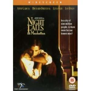 Night Falls on Manhattan Andy Garcia, Richard Dreyfuss, Lena Olin