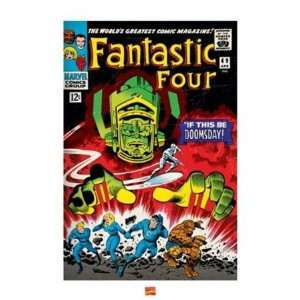 Fantastic Four Doomsday Comic Book Superhero Poster 16 x