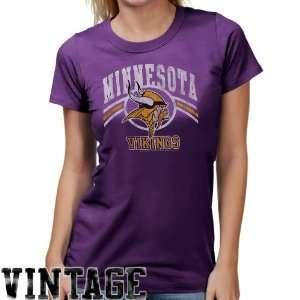 NFL Junk Food Minnesota Vikings Ladies Vintage Team Love