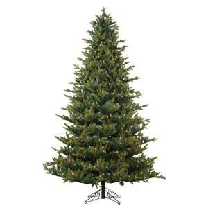 Oregon Pine Artificial Christmas Tree with Pine Cones  Multi Lights