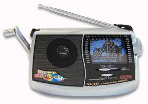 Dynamo Rechargable 12 Band Crank Radio