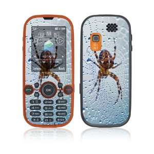 Dewy Spider Decorative Skin Cover Decal Sticker for Samsung Gravity 2
