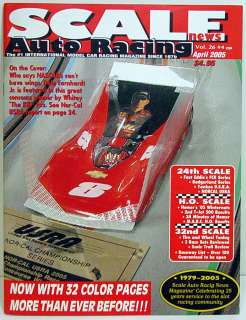 Scale Auto Racing News Magazine #204 August 2005