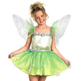 Disney Fairy Tink Fairies TinkerBell Child Girl Prestige DELUXE 7 8