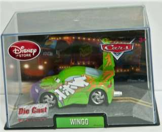 Disney Pixar Cars 1 Wingo Die Cast Car Collector Case
