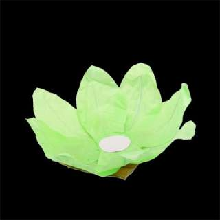 10×8 COLOR FLOWER lotus chinese lanterns wishing floating water light