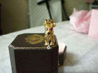 Juicy Couture Doggy in Collar Charm NIB