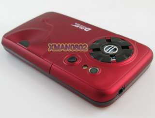 Fashion cheap mobile 3 sim t mobile dual cameras tv cell phone Q6 red