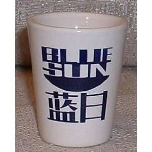 SERENITY / Firefly BLUE SUN White Ceramic Shot Glass Everything Else