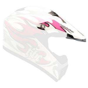 KBC Visor for Super X Helmet     /Air Surf Pink: Automotive
