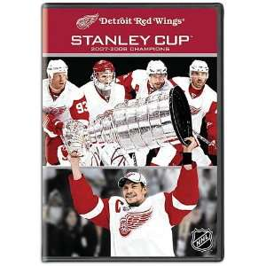 Redwings Team Marketing NHL 08 Stanley Cup Champions