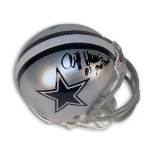 Dallas Cowboys Mini Helmet Inscribed 6X Pro Bowl