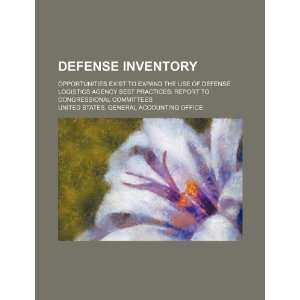 of Defense Logistics Agency best practices report to congressional