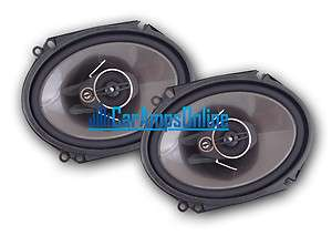NEW PIONEER TS A6874R 6X8 3 WAY CAR STEREO FRONT / REAR DOOR