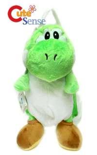 Super Mario Brothers Green Yoshi Plush Bag/Backpack