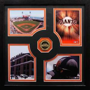 MLB San Francisco Giants Fan Memories Photomint Frame