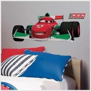 New Disney Cars 2 Movie Large FRANCESCO WALL DECAL Boys Bedroom Giant