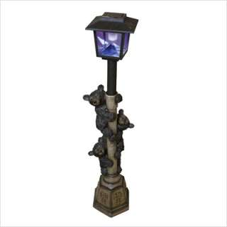 quality imports front yard lamp post with yard light. Black Bedroom Furniture Sets. Home Design Ideas