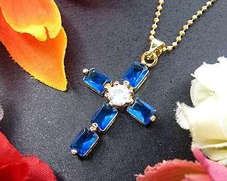 100 % brand new pendant emerald cut blue sapphire 4mmx6mmx5