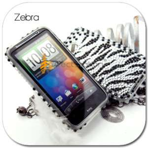 BLING Faceplate Hard CASE COVER AT&T HTC Inspire 4G