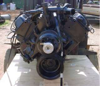 GM Chevy 6.2 Diesel Engine Excellent Used Take Out