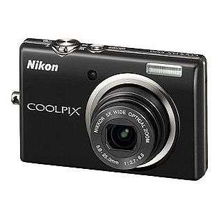 Coolpix 12.0 Megapixel 5X Optical Zoom Digital Camera   Black  Nikon
