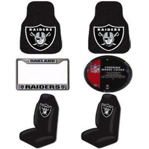 Mats, Seat Covers, Steering Wheel Cover and Chrome License Plate Frame