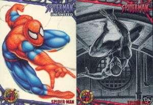 SPIDER MAN ULTRA 1997 FLEER SKYBOX BASE CARD SET