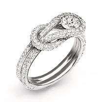 75 ct. t.w. Everlon™ Diamond Knot Ring (I, I1)   Sams Club